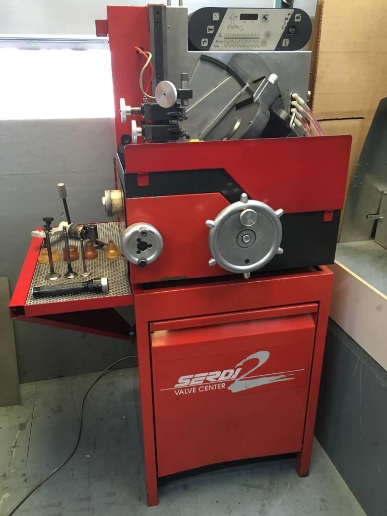 Serdi 2 Vertical valve re-facing machine for sale    SOLD