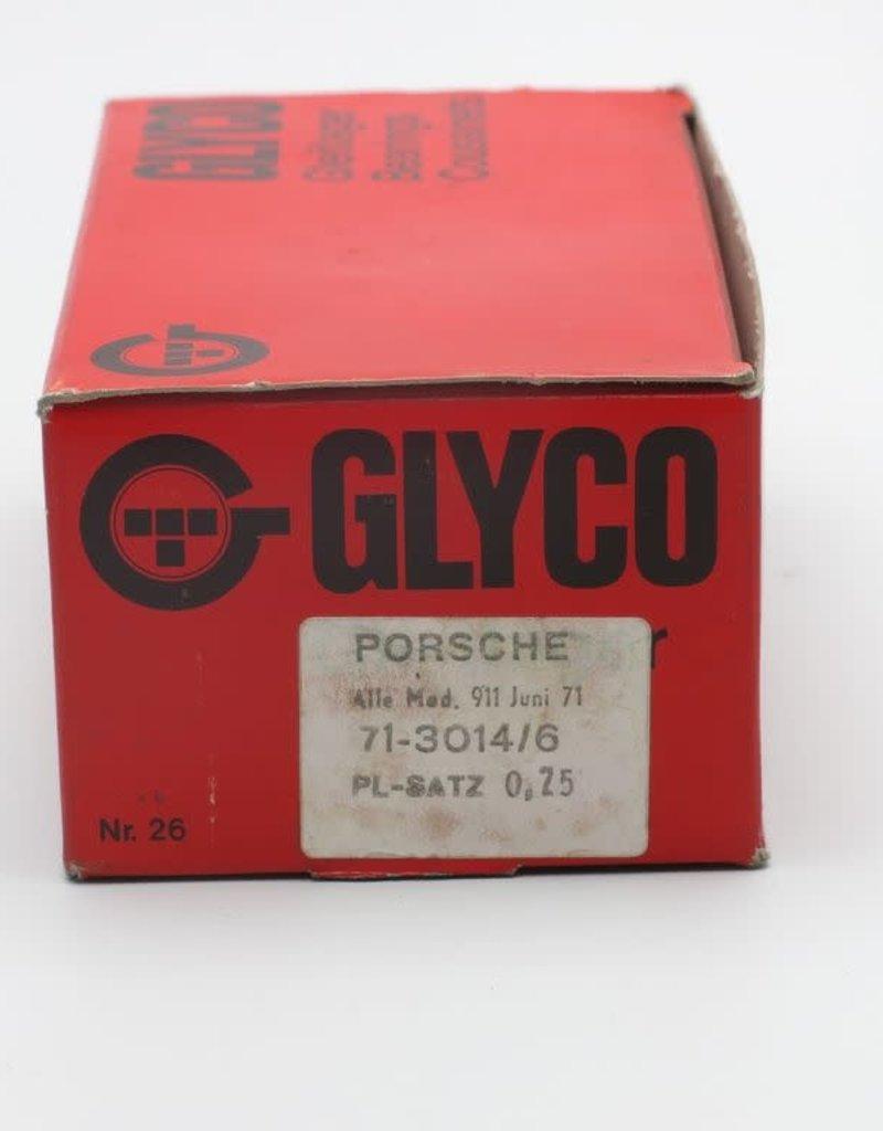Glyco Porsche 911  Big End Bearing Set 0.25mm