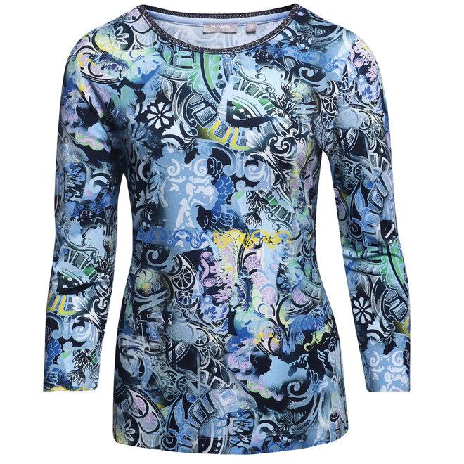 Shirt met Glitterhals