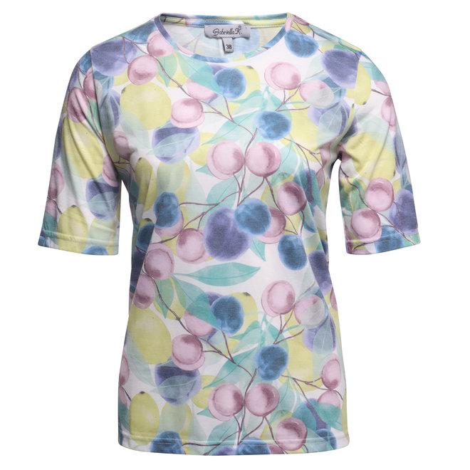 T-Shirt met Frisse Tinten