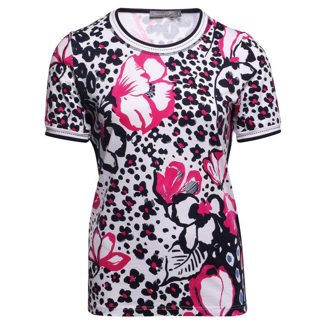 T-Shirt in Vrolijke Voorjaarskleuren