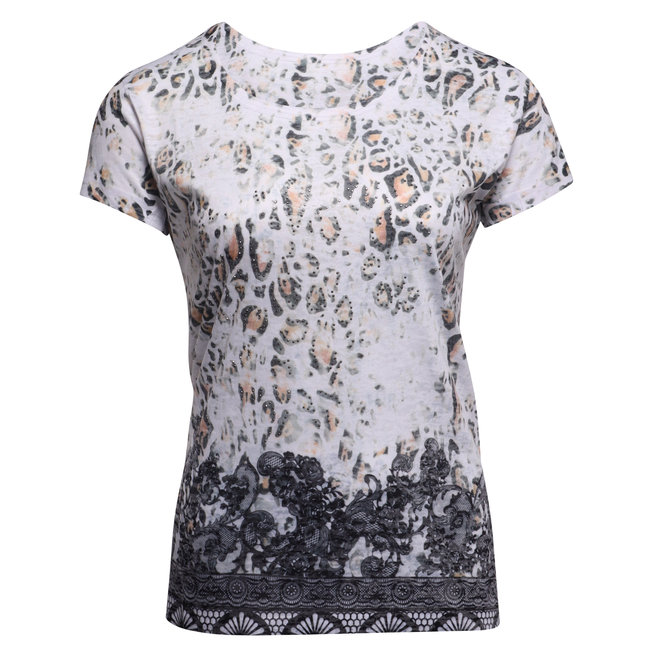 T-Shirt met Dierenprint