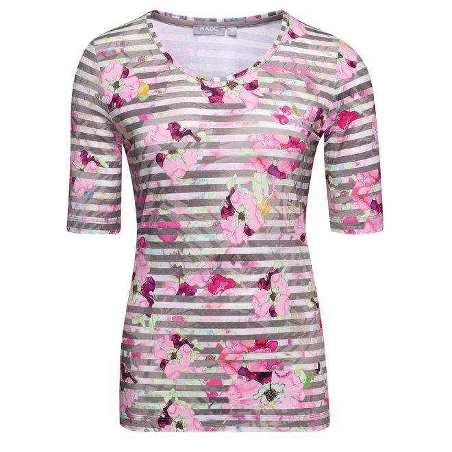 T-Shirt met Frisse Voorjaarsprint