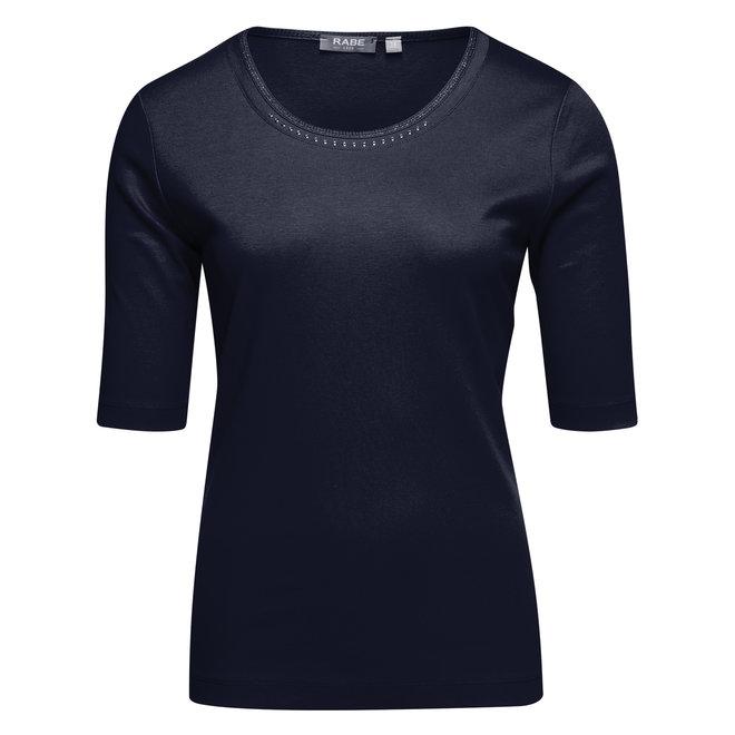 Rabe Effen T-Shirt in Blauw