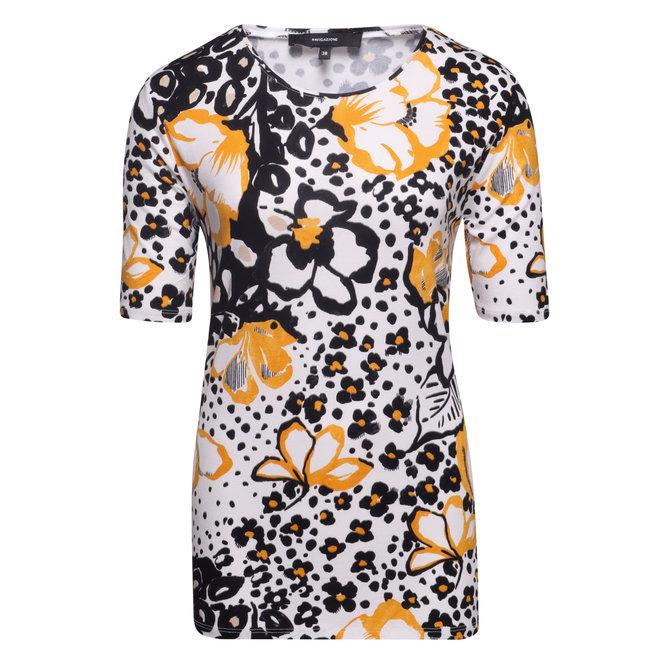 T-Shirt Geel Lente Bloemetje