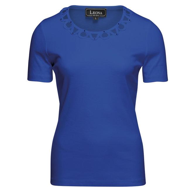 T-Shirt met Sierlijke Details