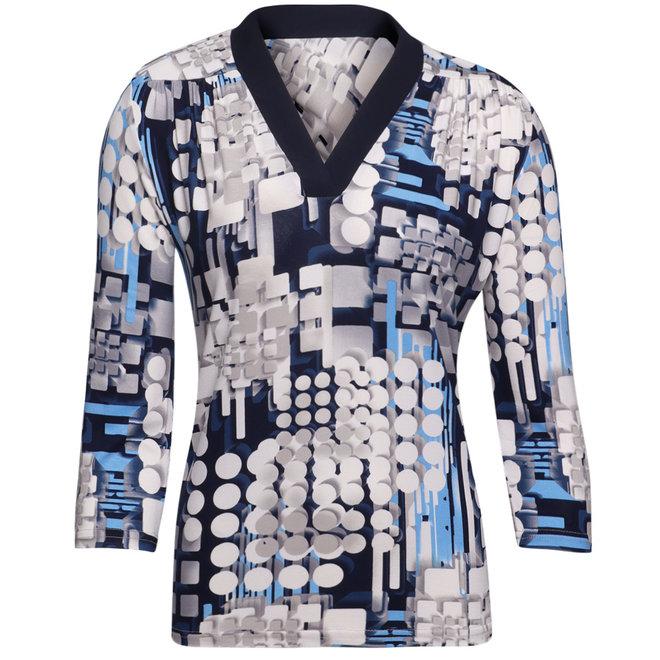 Shirt met Driekwarts Mouwen