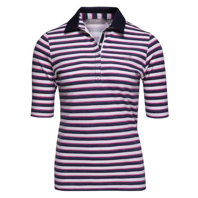 Polo in Roze en Blauw