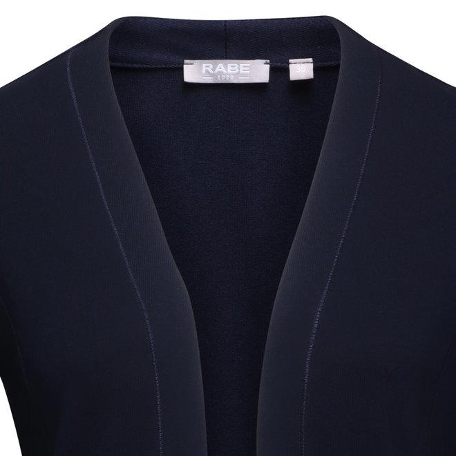 Sportief Openvallend Vest met 3/4 Mouw