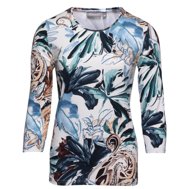 Shirt met All-Over Dessin
