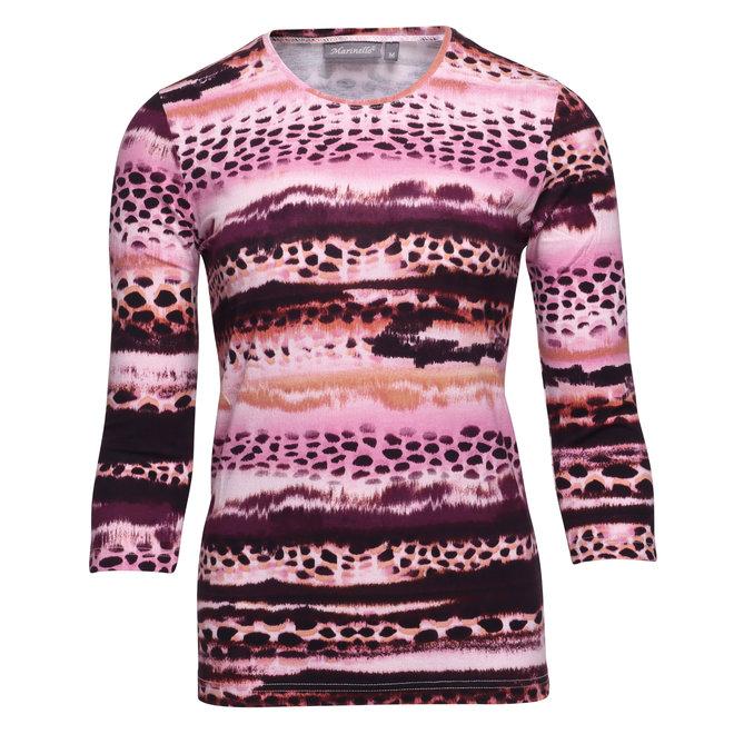 Shirt in Herfstkleuren