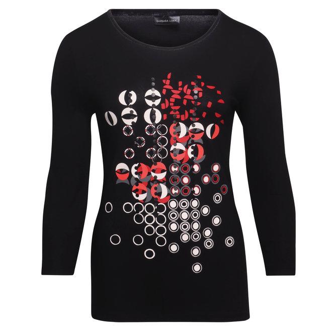 Shirt met Grafische Opdruk