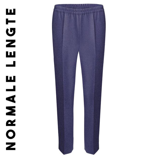 Pantalon Elastiek: Indigo