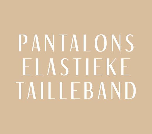 Pantalon Elastieke Band: Zomercollectie