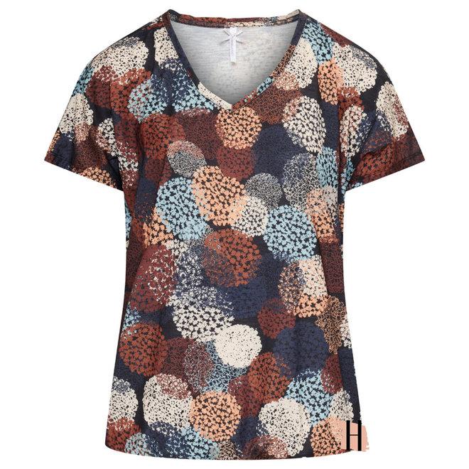 Blouson T-Shirt met Bollen