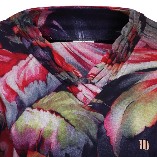 Warm Shirt met Lange Mouwen en Sierlijke Hals