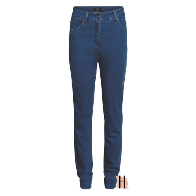 Madeleine Jeans Middenblauw
