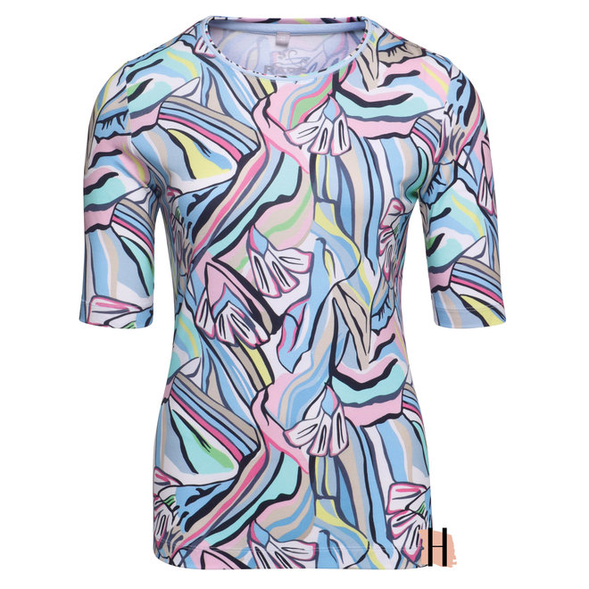 T-Shirt in Vrolijke Frisse Kleuren