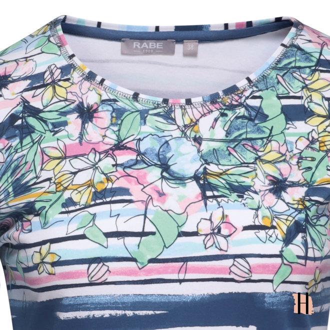 T-Shirt in Zomerse Kleuren