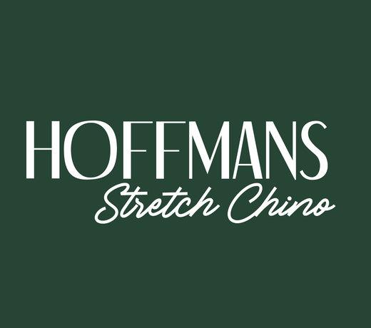 Hoffmans Stretch Pantalons met Elastische Band van Katoen