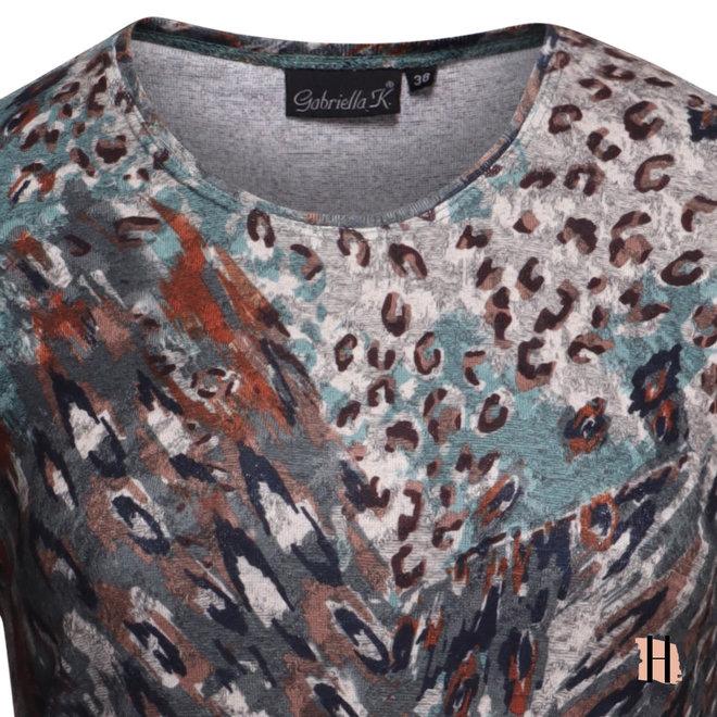 Shirt van Warme Kwaliteit in Herfsttinten