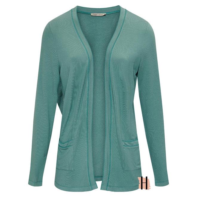 Vest Demidi MICRO MODAL Fine Knit in Ocean Blue 130 W21