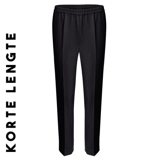 Pantalon Elastiek Viscose: Zwart