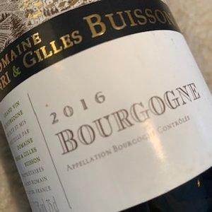 Domaine Henri & Gilles Buisson Bourgogne Blanc