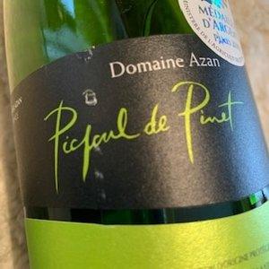 Domaine de Petit Roubié Picpoul de Pinet Domaine Azan