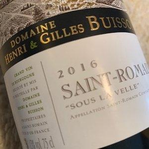 Domaine Henri & Gilles Buisson Saint Romain Sous la Velle