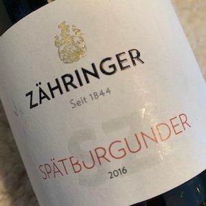 Weingut Zahringer Spatburgunder SZ
