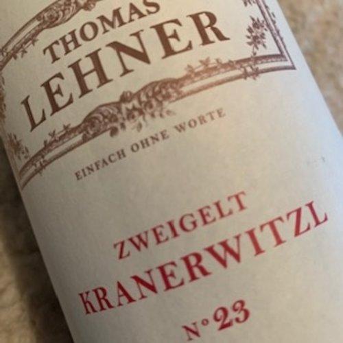 Thomas Lehner Zweigelt Kranerwitzl