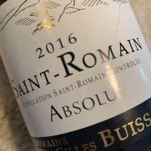 Domaine Henri & Gilles Buisson Saint-Romain Absolu Rouge