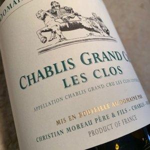 Domaine Christian Moreau Père & Fils Chablis Grand Cru Les Clos