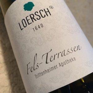 Weingut Loersch Fels-Terrassen Riesling Feinherb