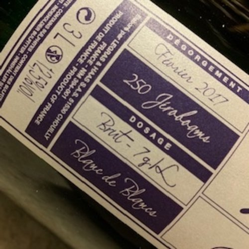 Champagne Legras & Haas Millesime Jeroboam (L&H)