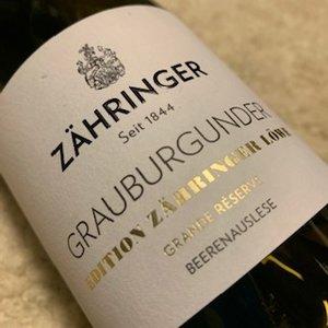Weingut Zahringer Grauburgunder Beerenauslese Grande Reserve