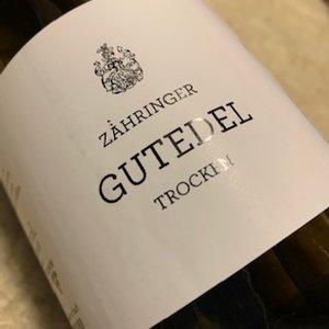 Weingut Zahringer Gutedel (ltr)