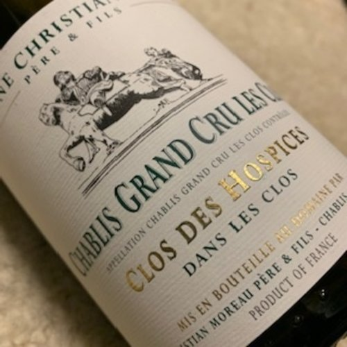 Domaine Christian Moreau Père & Fils Chablis Grand Cru Les Clos Clos des Hospices