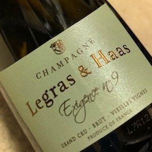 Champagne Legras & Haas Exigence No. 9 Grand Cru