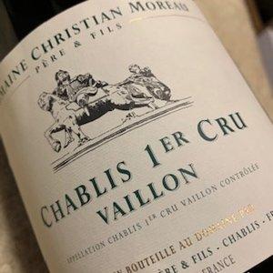 Domaine Christian Moreau Père & Fils Chablis 1er Cru Vaillon magnum
