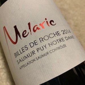 Domaine Melaric Billes de Roche Saumur Puy Notre Dame Rouge