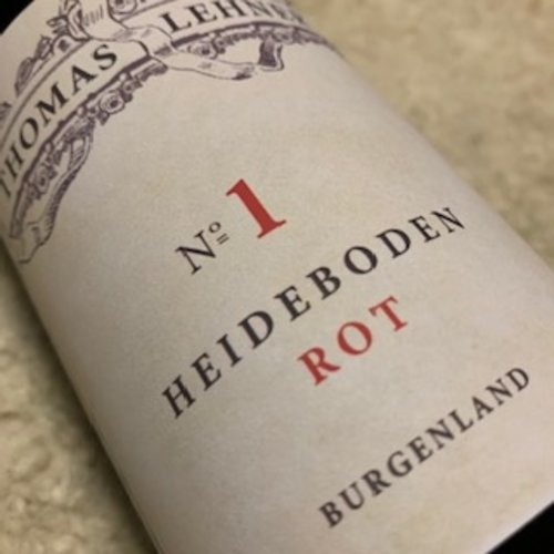 Thomas Lehner Heideboden Rot No.1