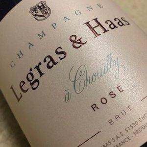Champagne Legras & Haas Rose Magnum