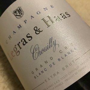 Champagne Legras & Haas Blanc de Blancs Extra Brut Magnum
