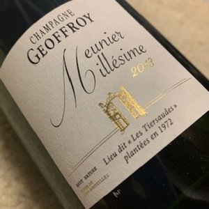 Champagne Geoffroy Les Tiersaudes