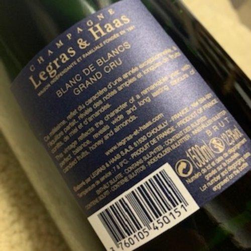 Champagne Legras & Haas Millesime Magnum (L&H)