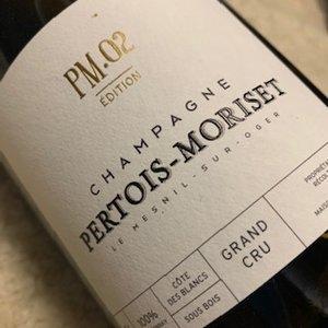 Champagne Pertois Moriset PM 02. Edition Grand Cru