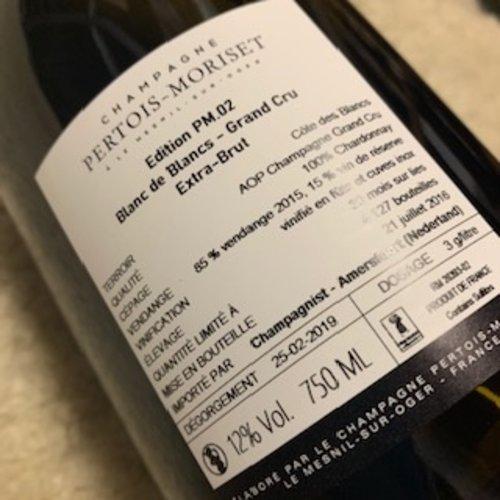 Champagne Pertois-Moriset PM 02. Edition Grand Cru