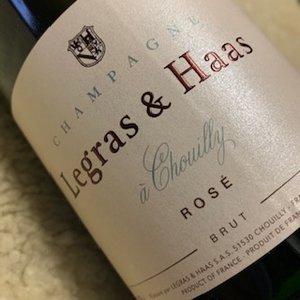 Champagne Legras & Haas Rose